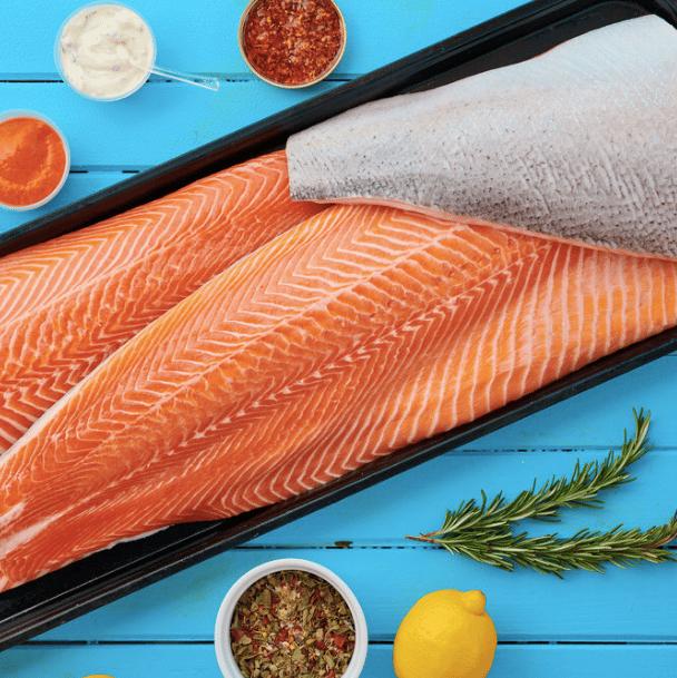 Comprar salmón salvaje noruego